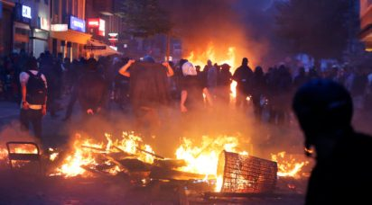 Germany G20 Protest
